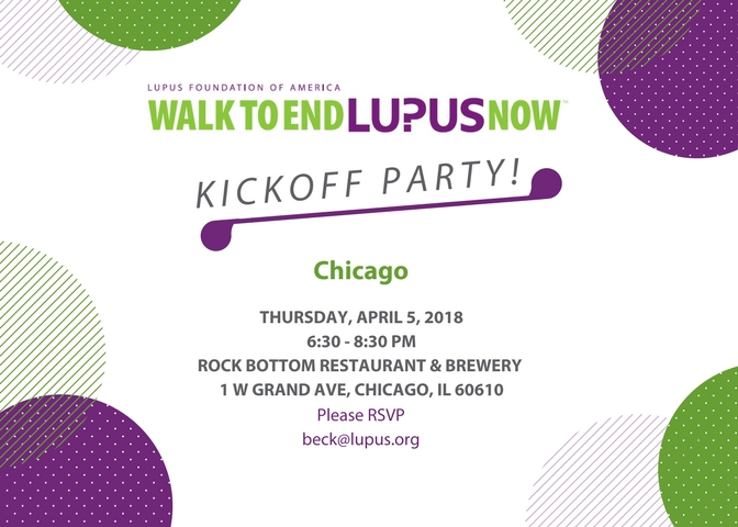 Chicago 2018 Kick-Off
