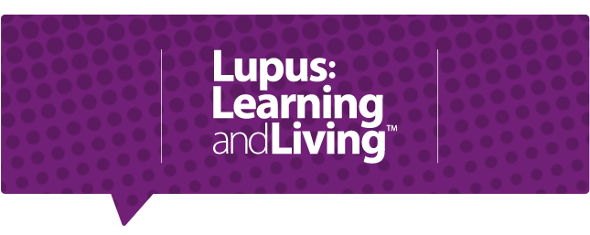 Lupus Living and learning logo